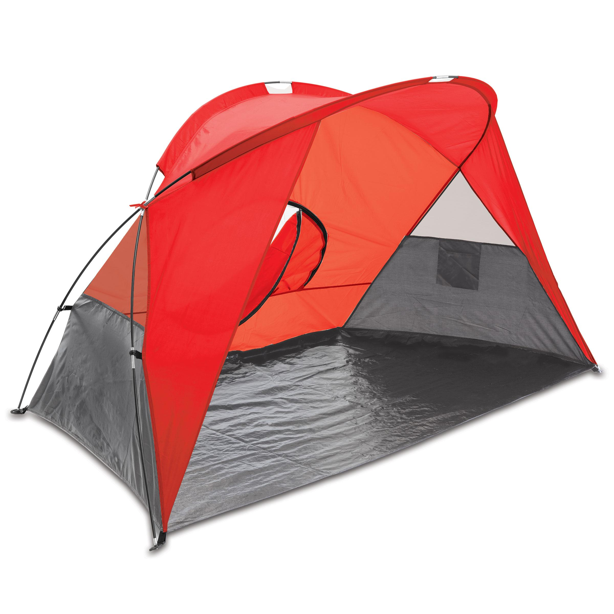 Cove Sun Shelter Red/grey