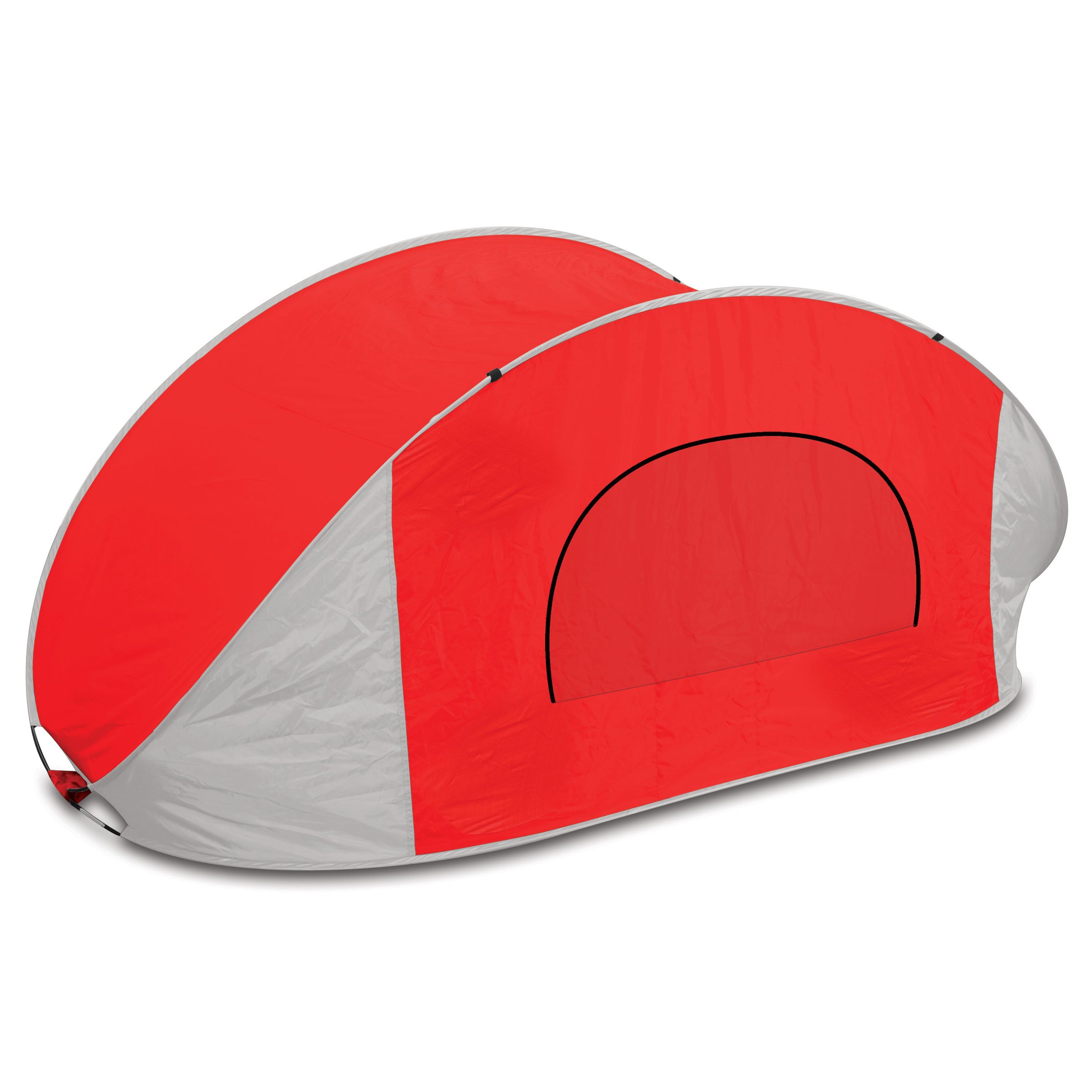 Manta Sun Shelter Red/grey