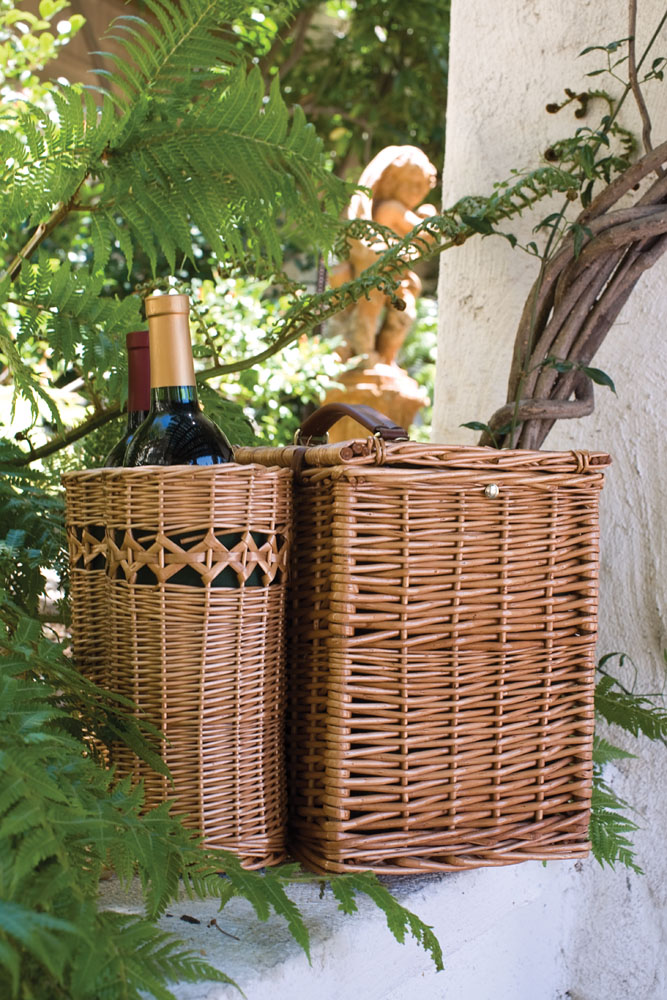 Vino Wine And Cheese Basket