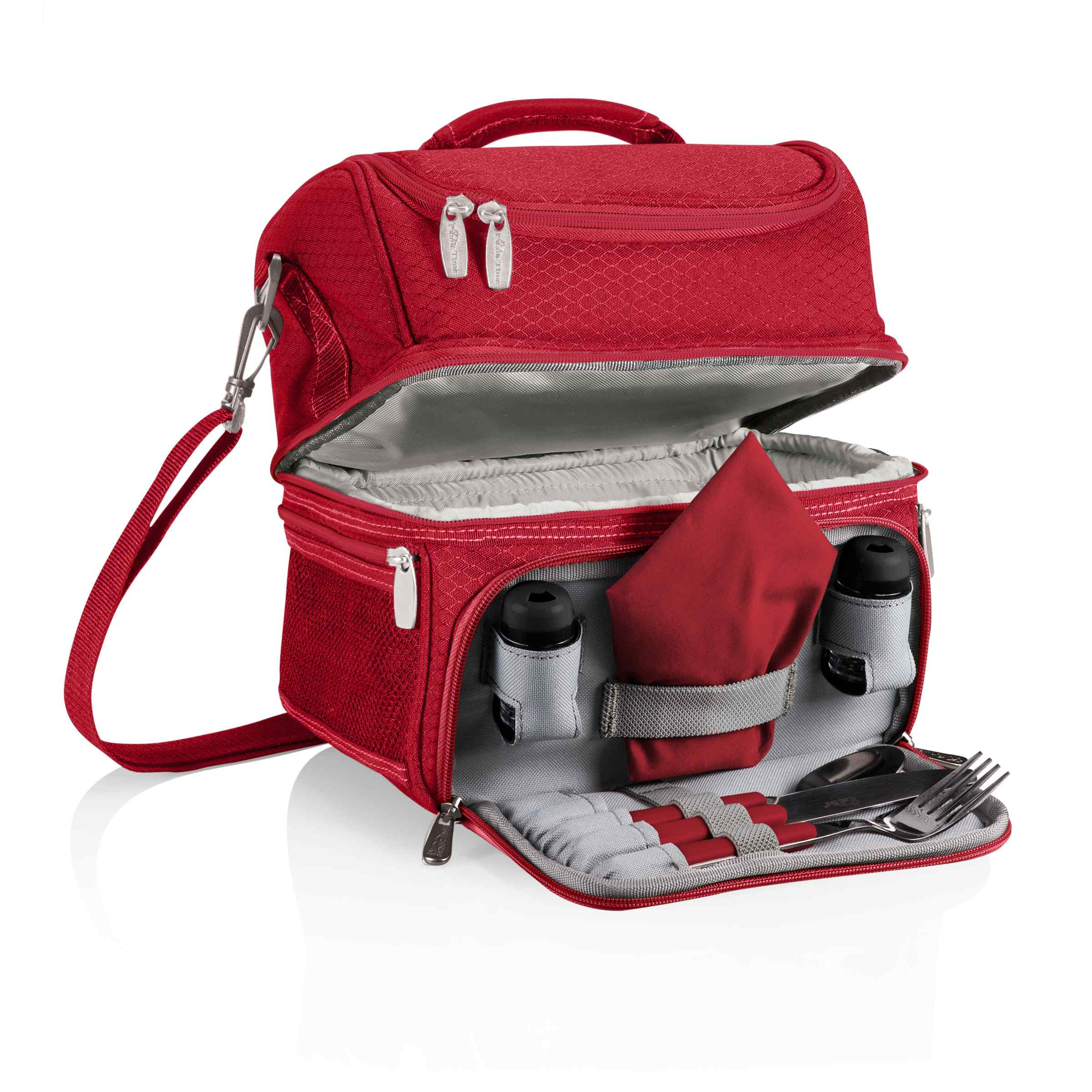 Pranzo Lunch Tote Red