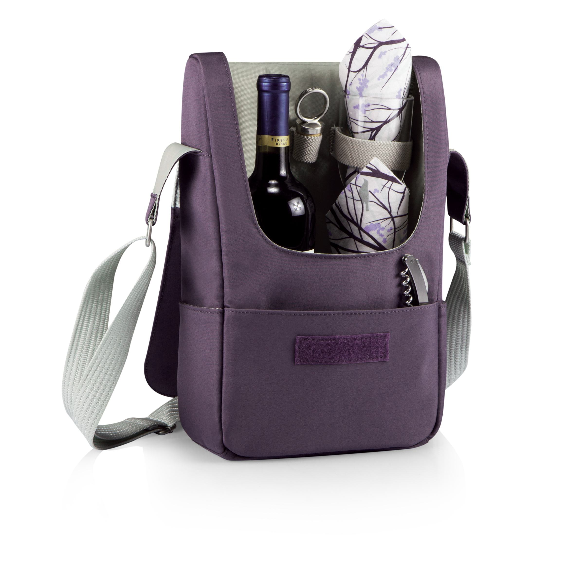 Barossa Wine Tote Light Grey