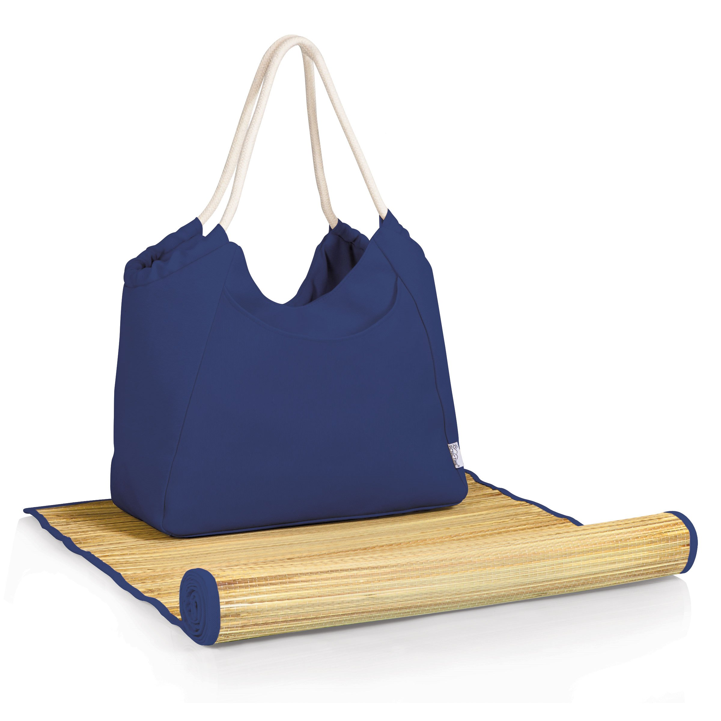 Cabo Beach Tote And Mat Navy