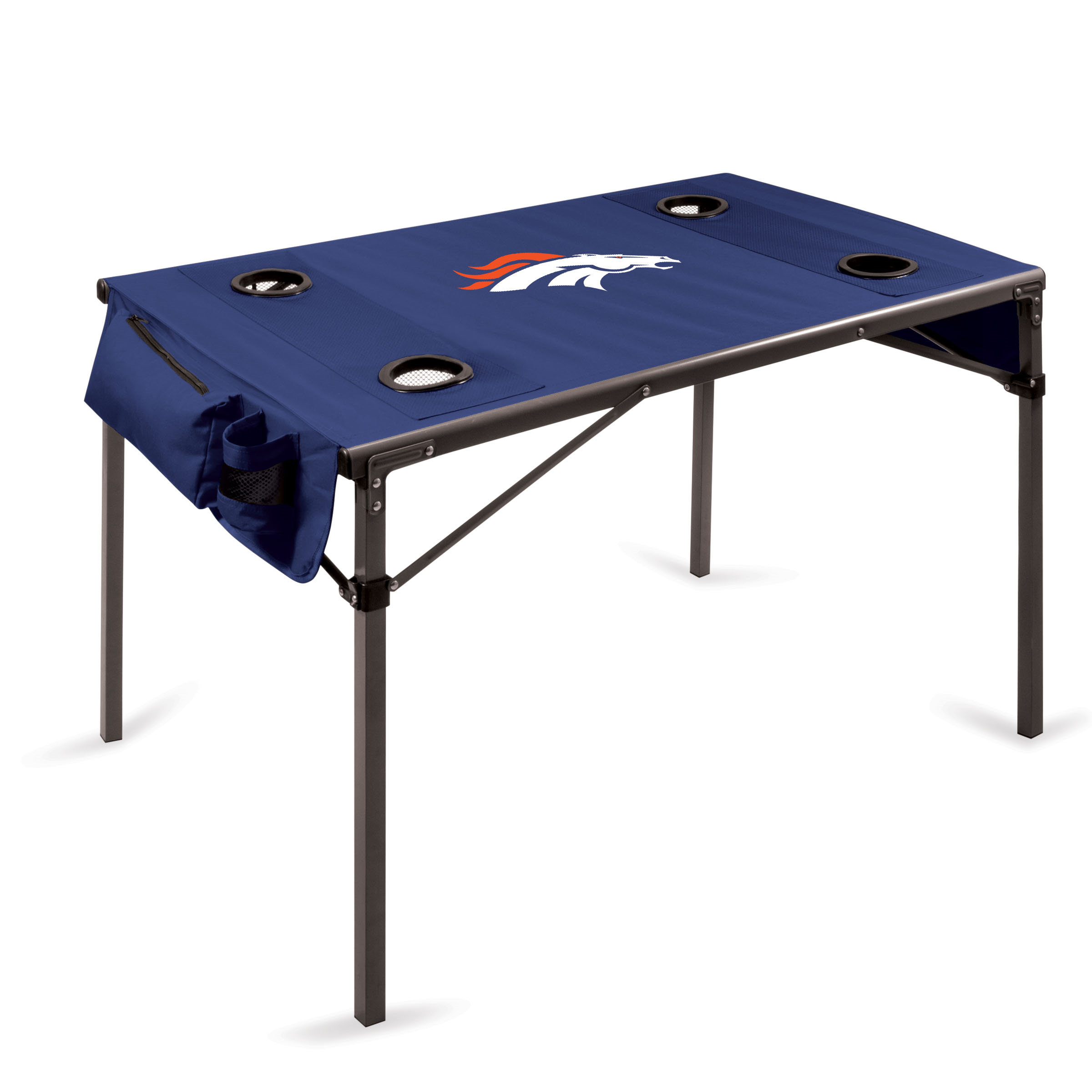 Picnic Time Nfl Travel Table Denver Broncos