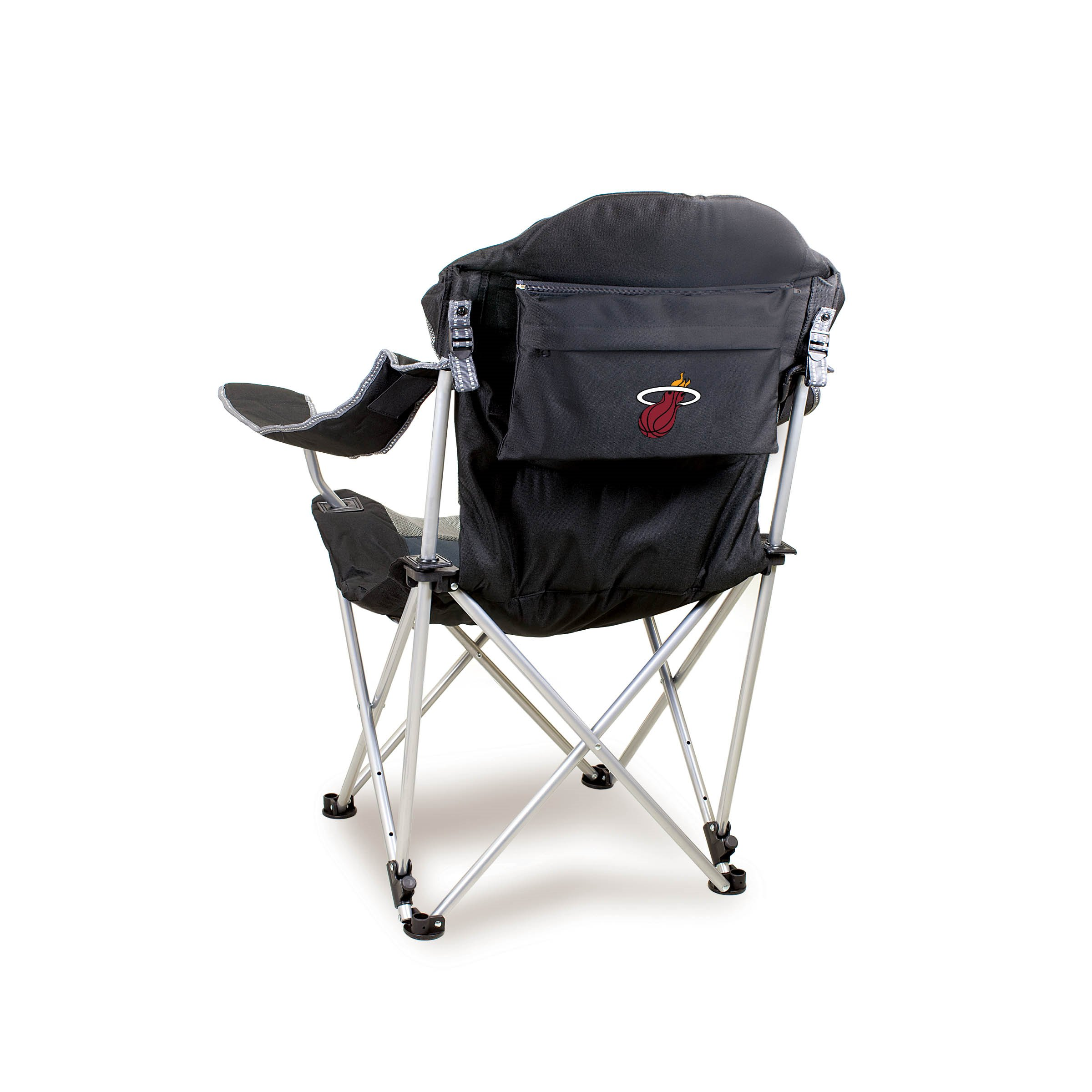 Picnic Time Nba Reclining Camp Chair Miami Heat