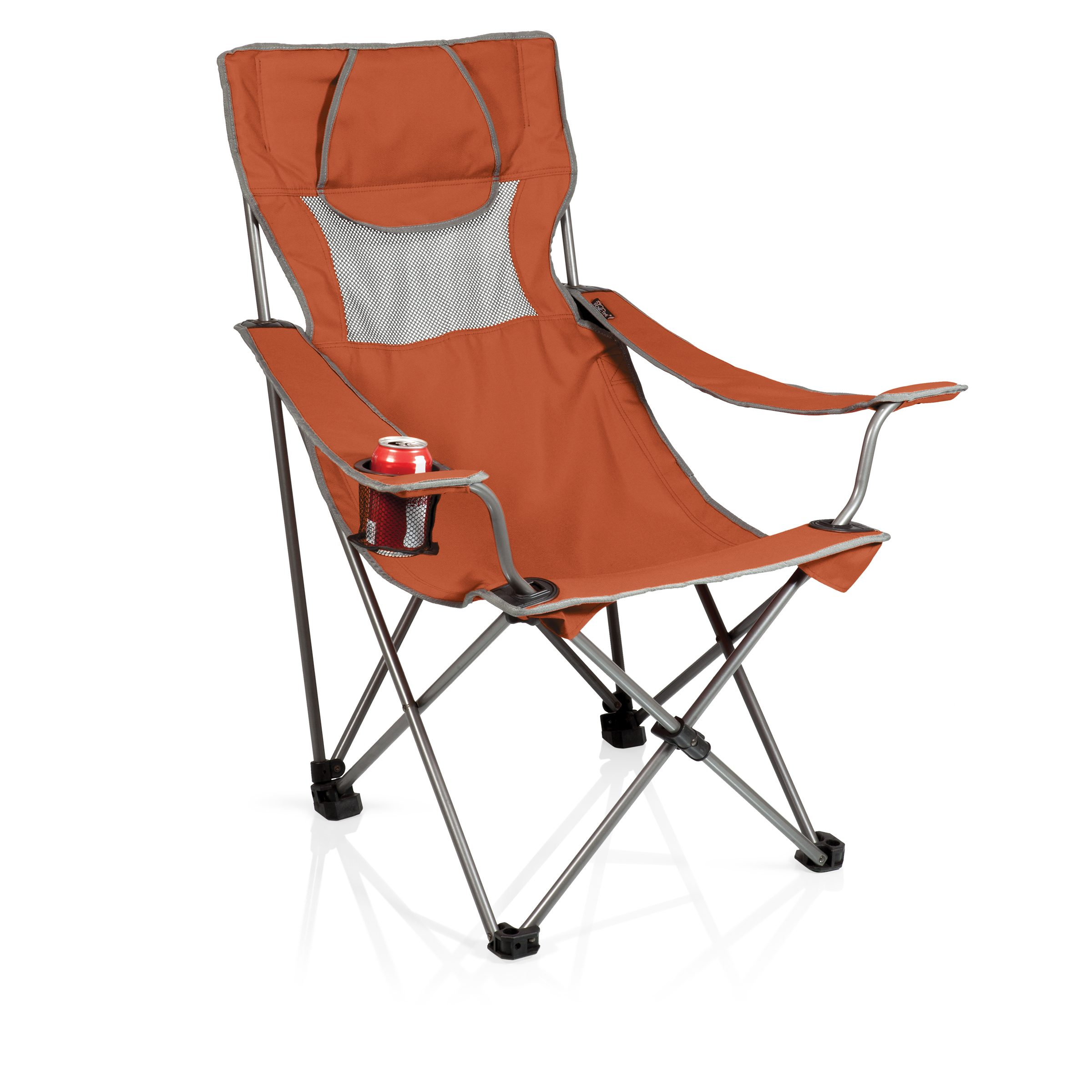 Campsite Chair Burnt Orange/grey