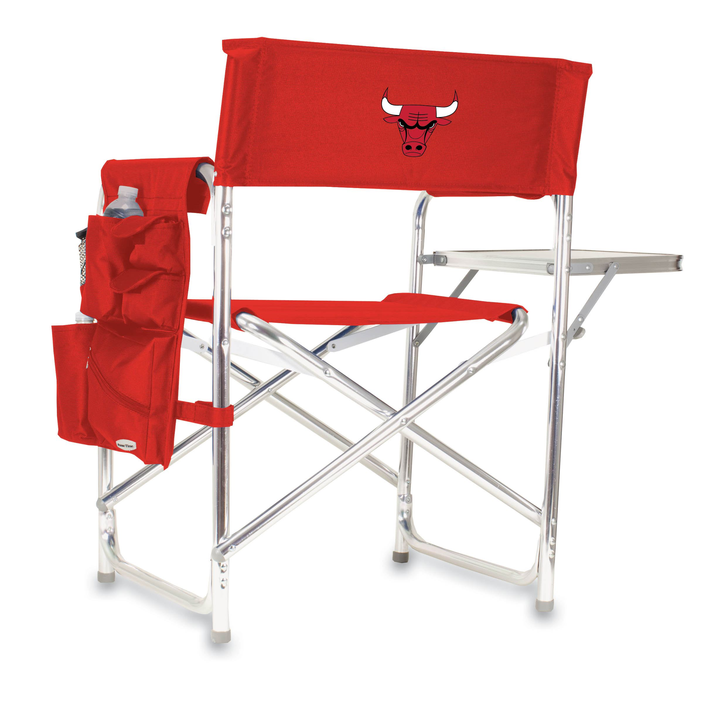 Picnic Time Nba Sports Chair Chicago Bulls