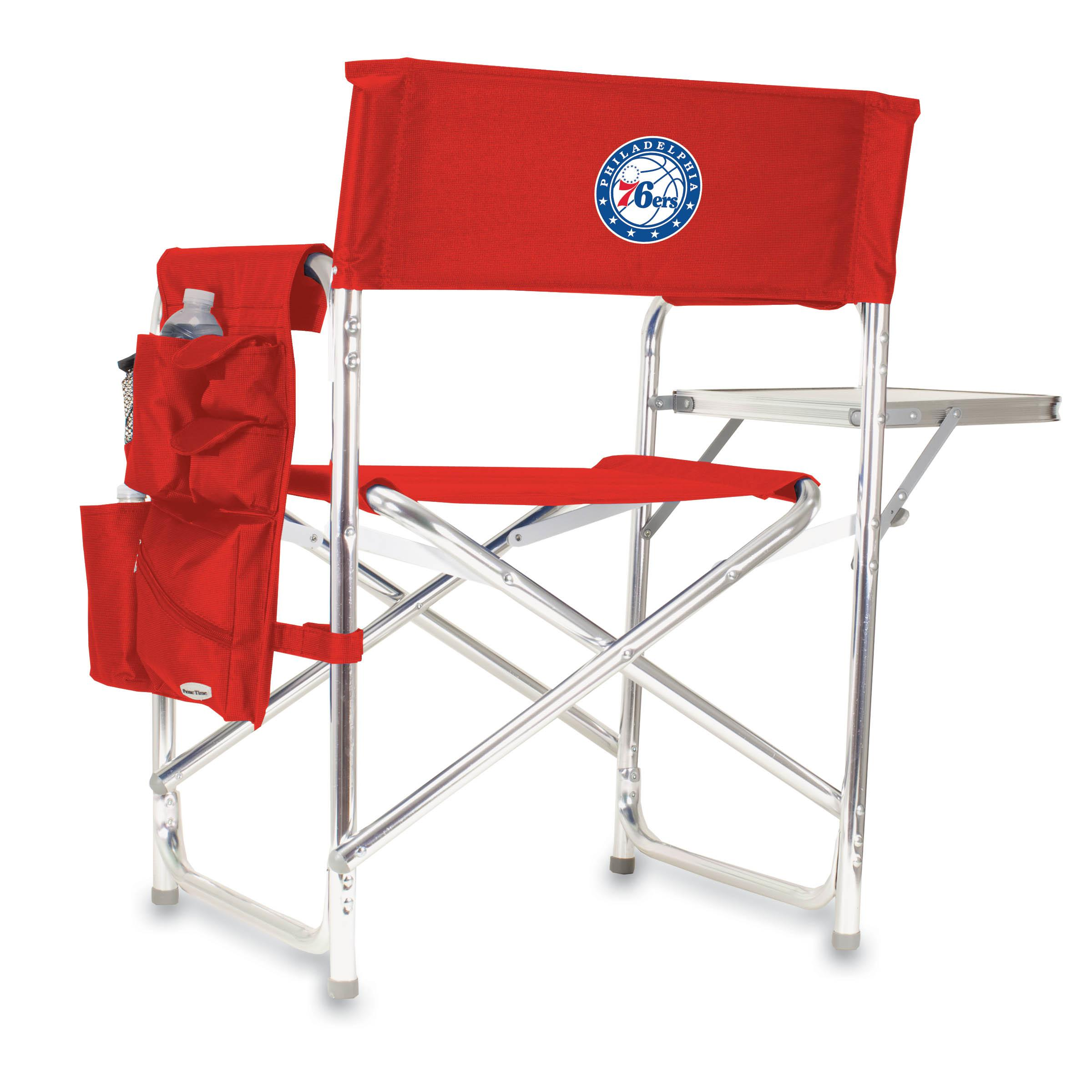 Picnic Time Nba Sports Chair Philadelphia 76ers