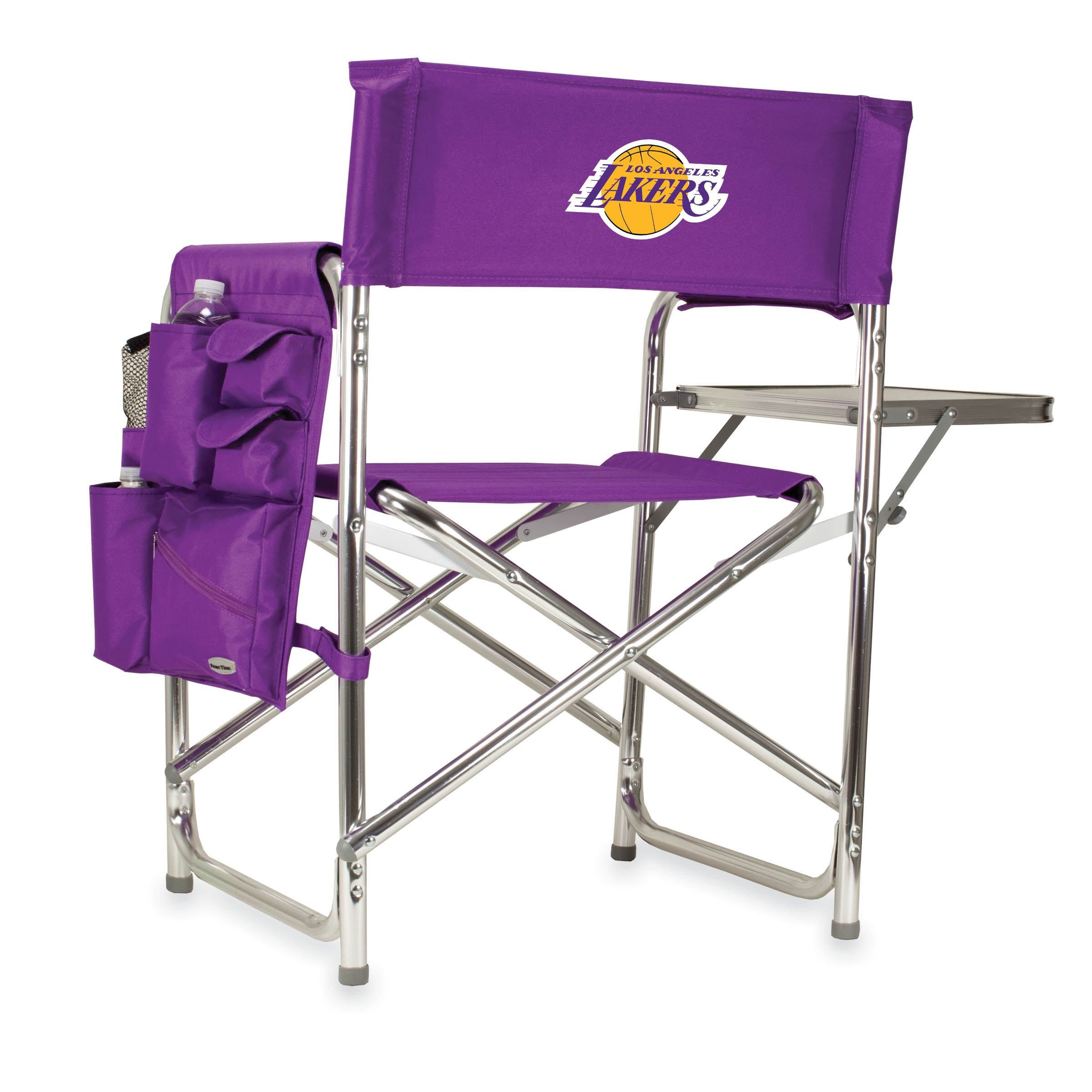 Picnic Time Nba Sports Chair Los Angeles Lakers