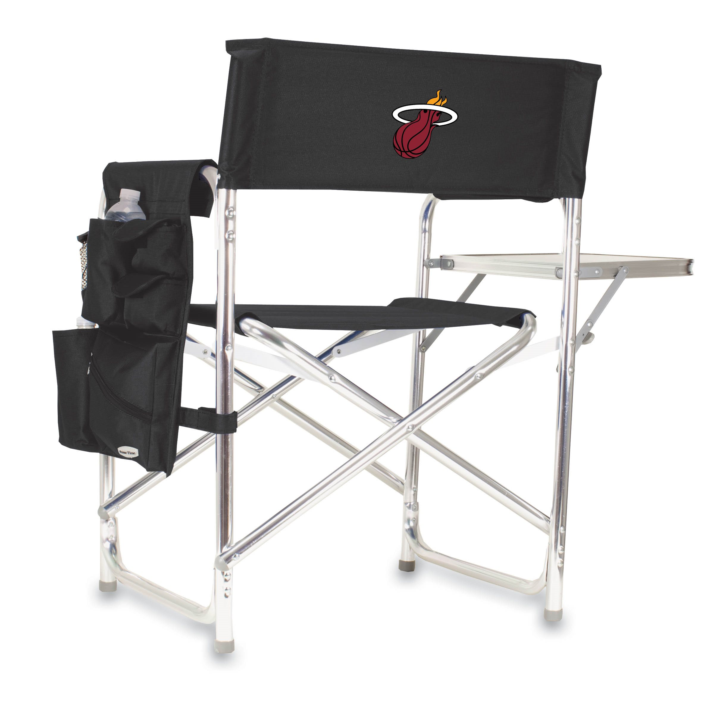 Picnic Time Nba Sports Chair Miami Heat
