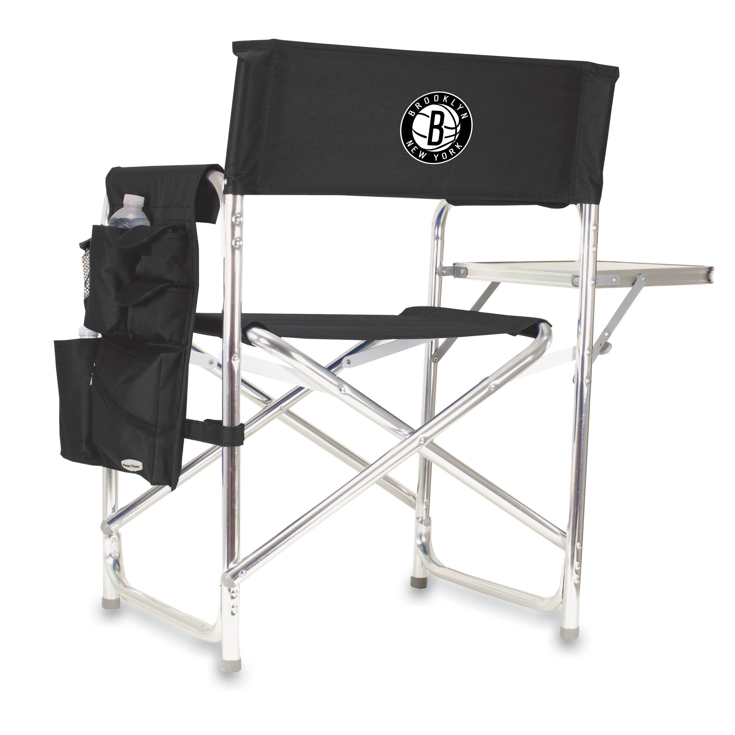Picnic Time Nba Sports Chair Brooklyn Nets