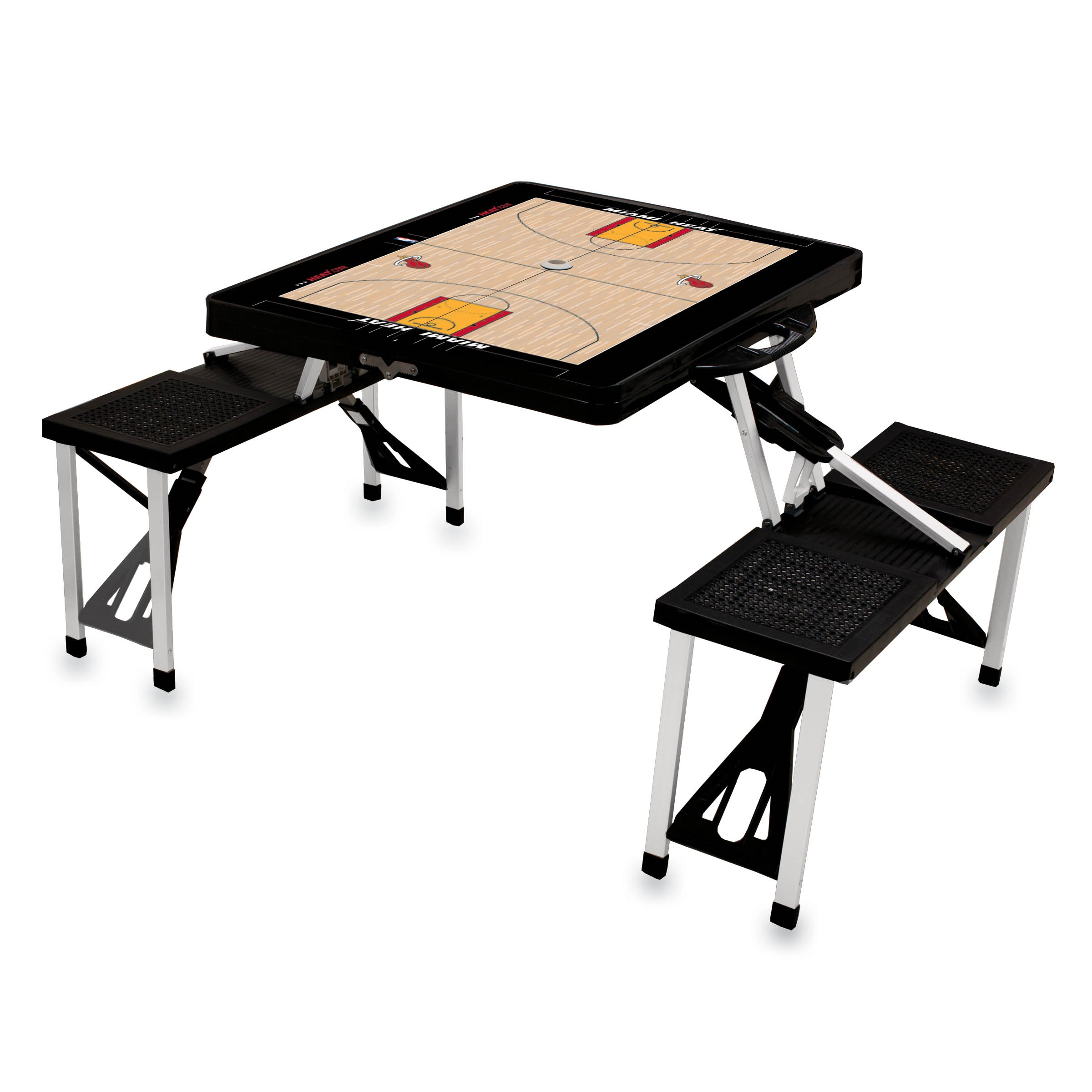 Picnic Time Nba Picnic Table Sport Miami Heat