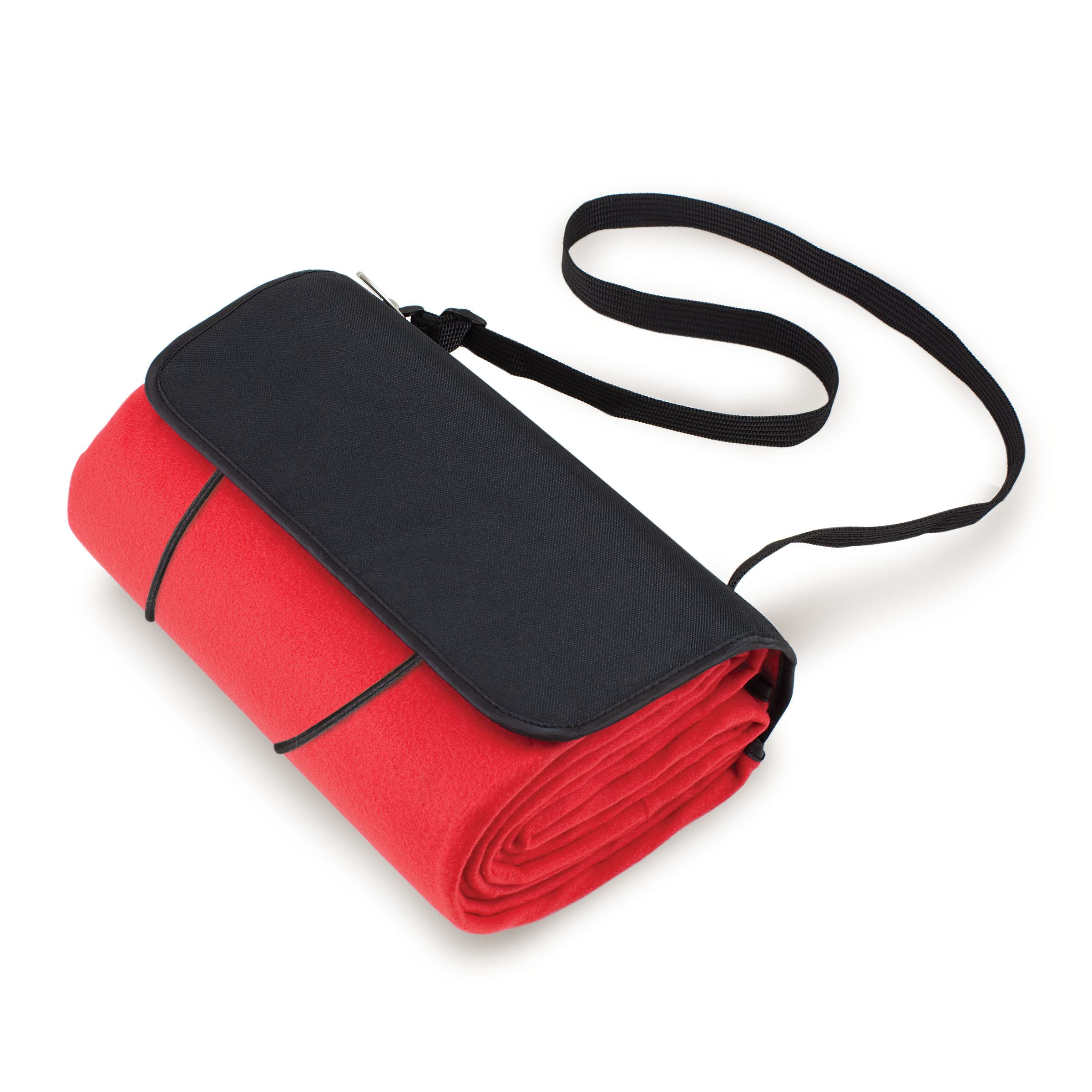 Blanket Tote Red/black