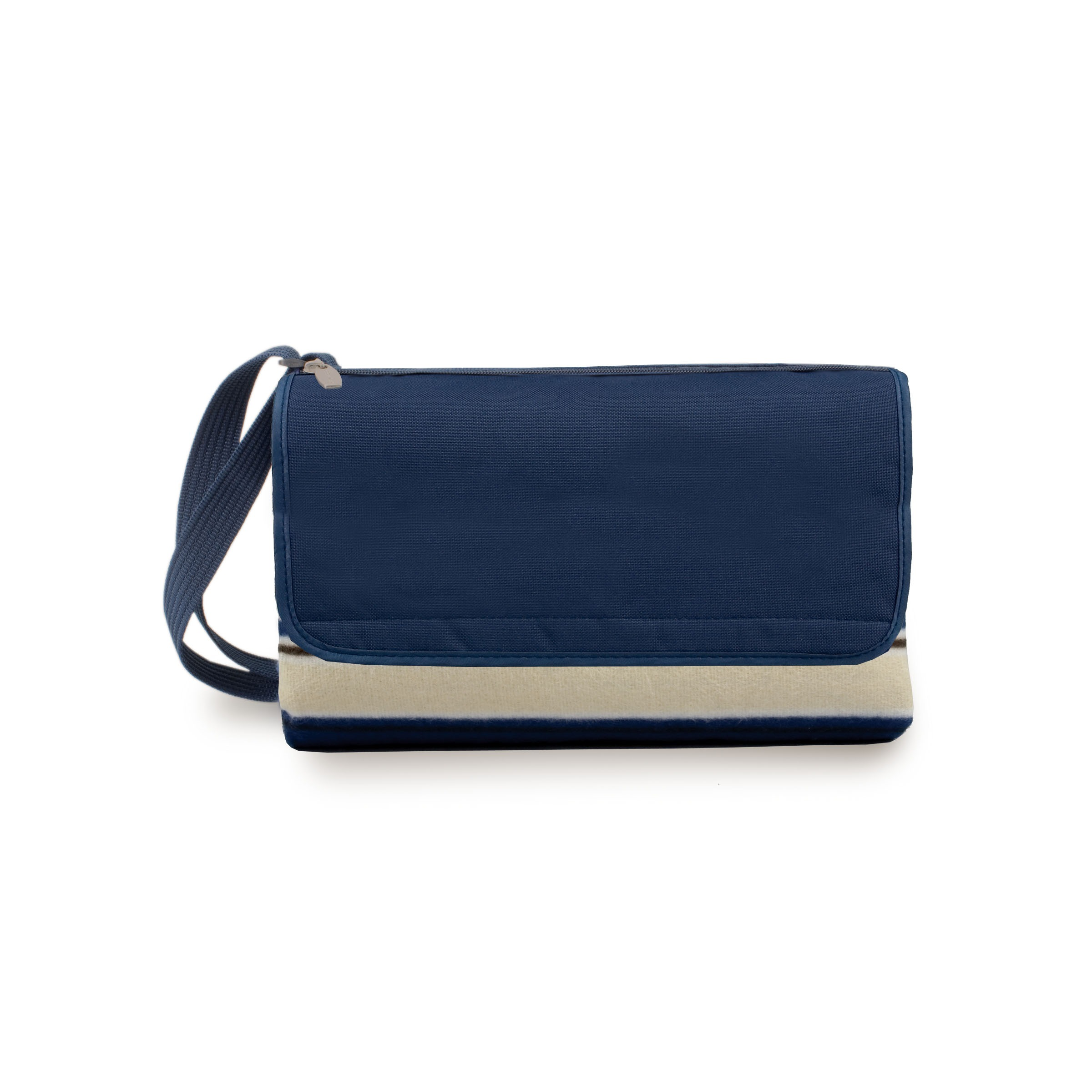 Blanket Tote Blue Stripes/navy
