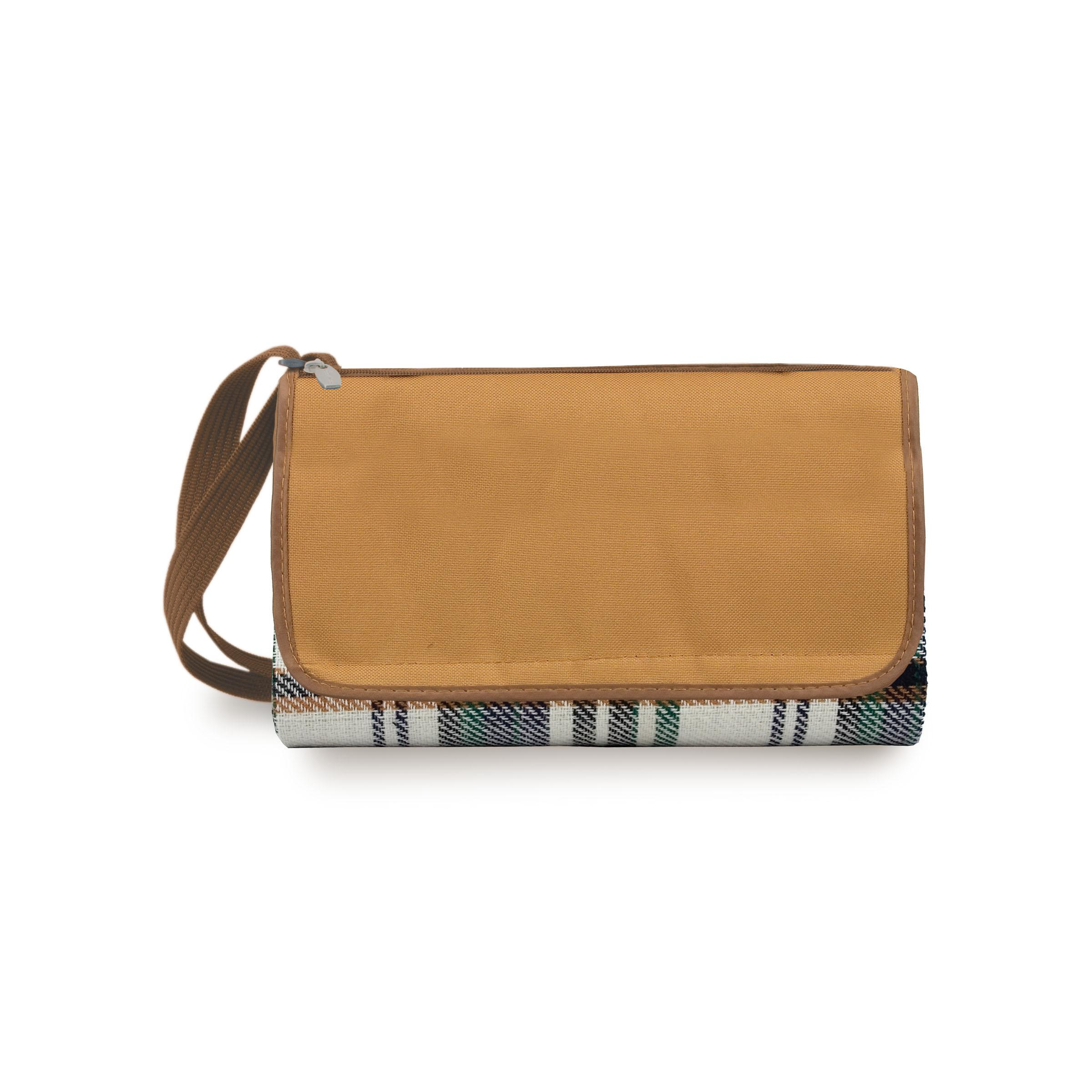Blanket Tote English Plaid/camel