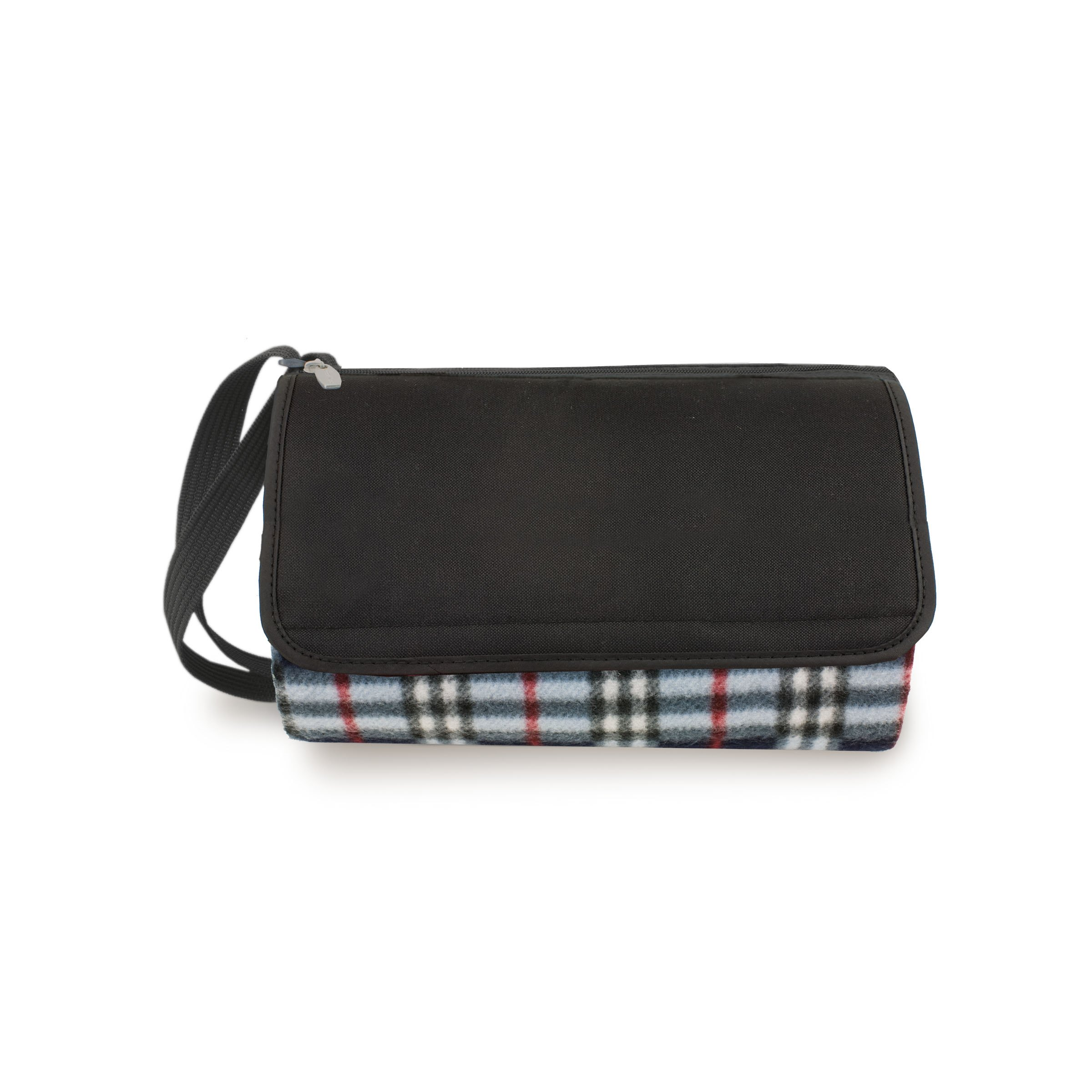 Blanket Tote Black Plaid/black