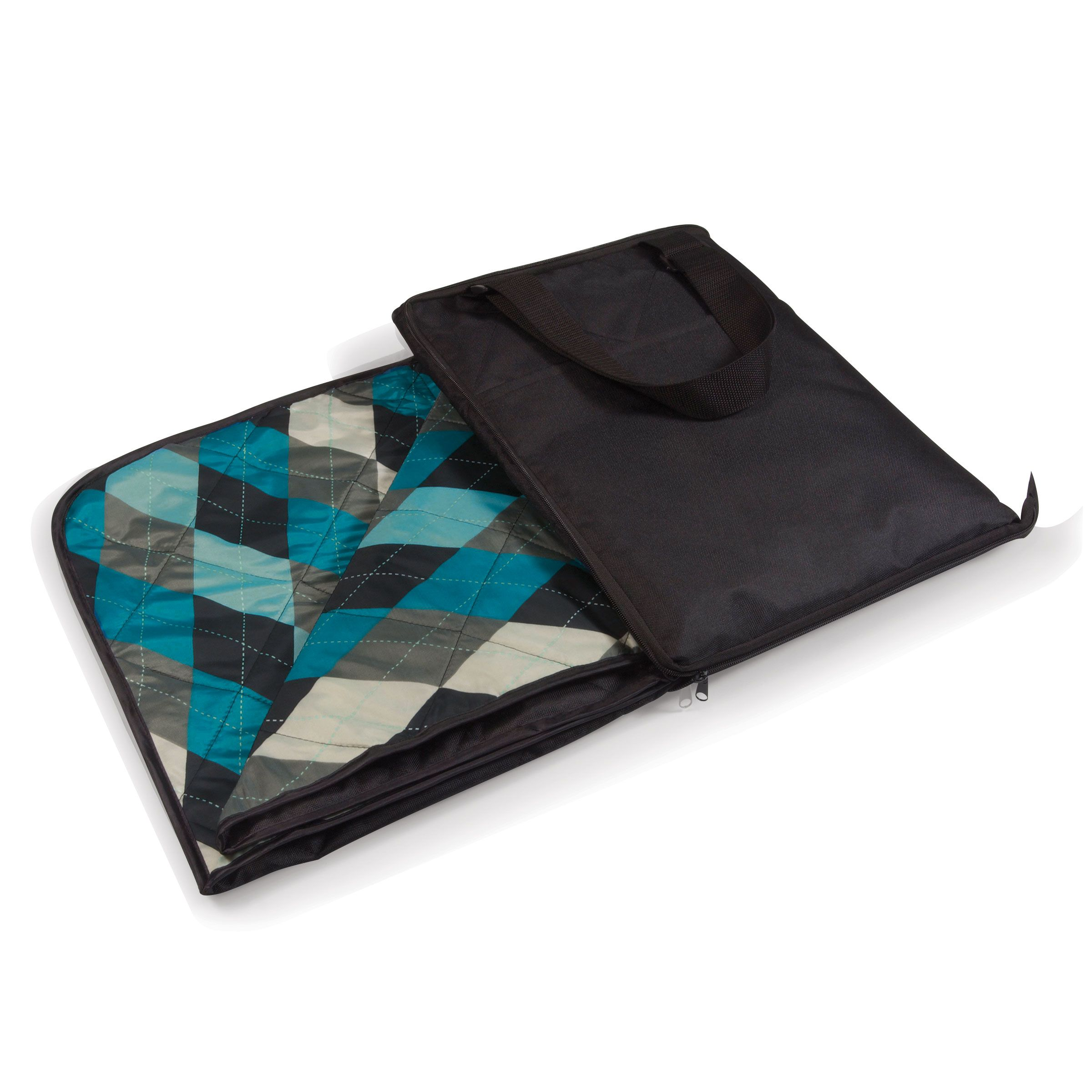 Vista Outdoor Blanket Black/blue