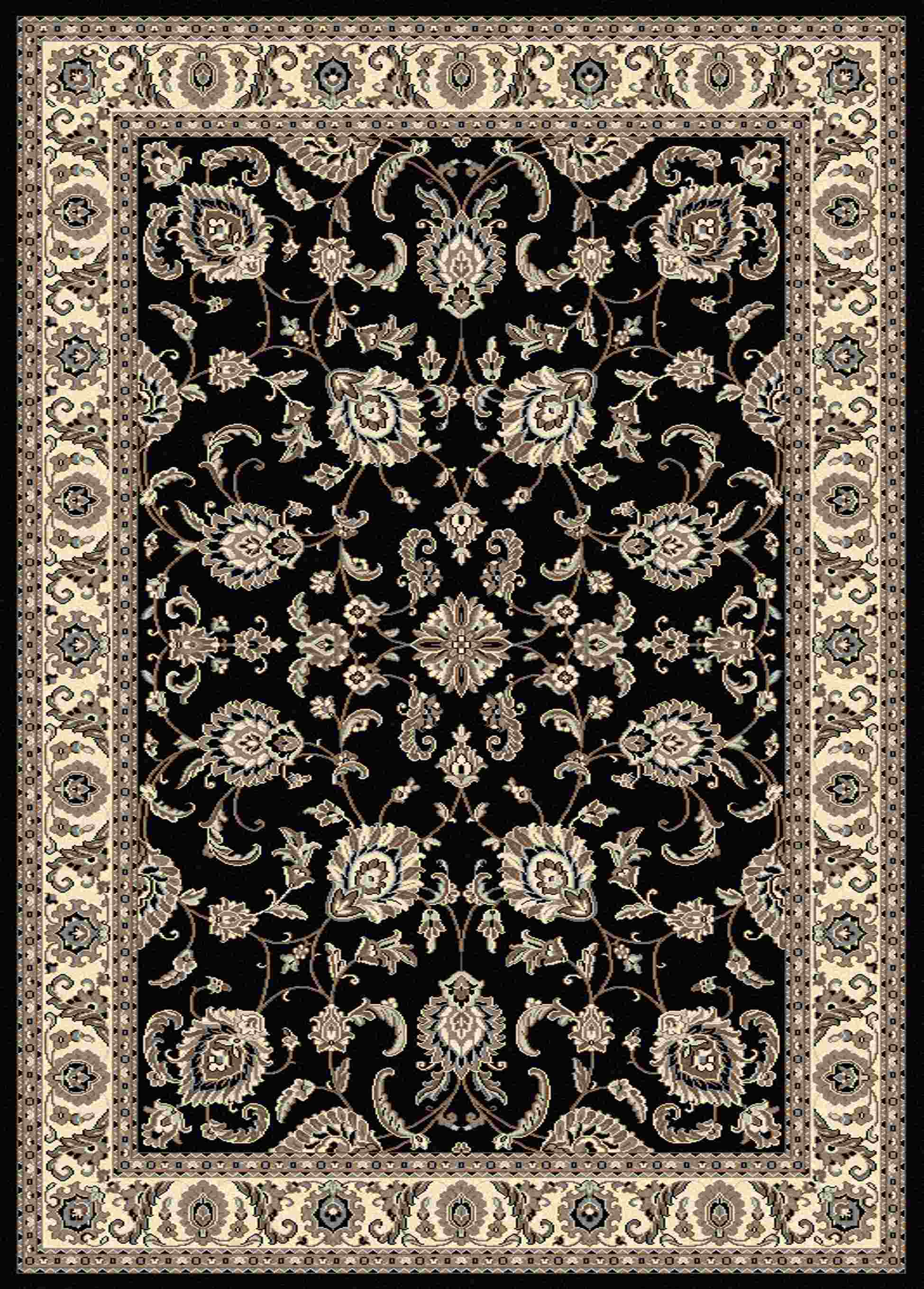 Radici Usa Alba 1426 Blue Traditional Area Rug