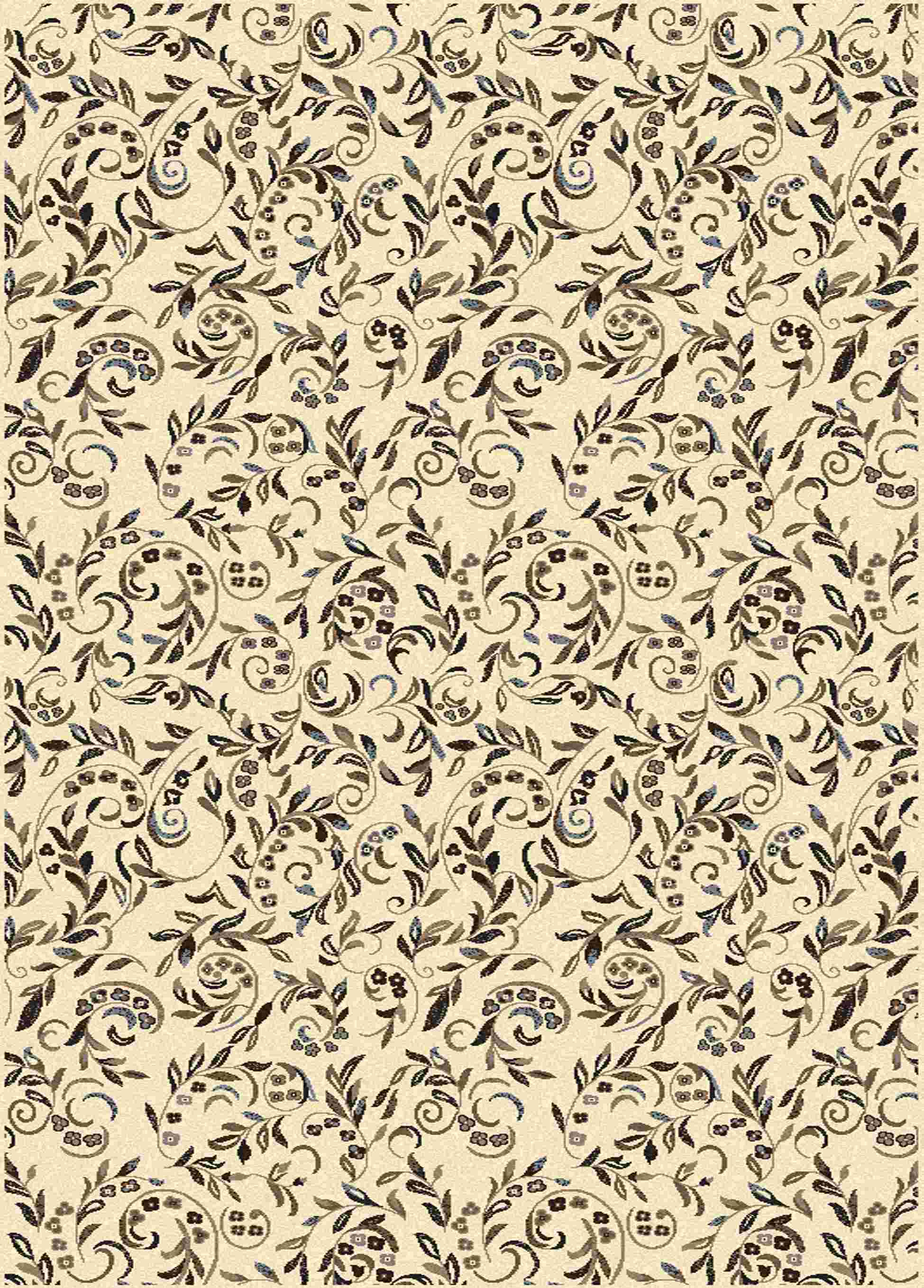 Radici Usa Alba 1860 Ivory Traditional Area Rug