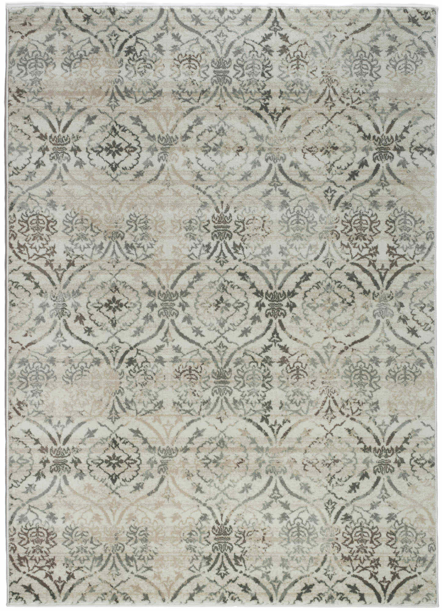 Radici Usa Pisa 3746 Ivory Transitional  Area Rug