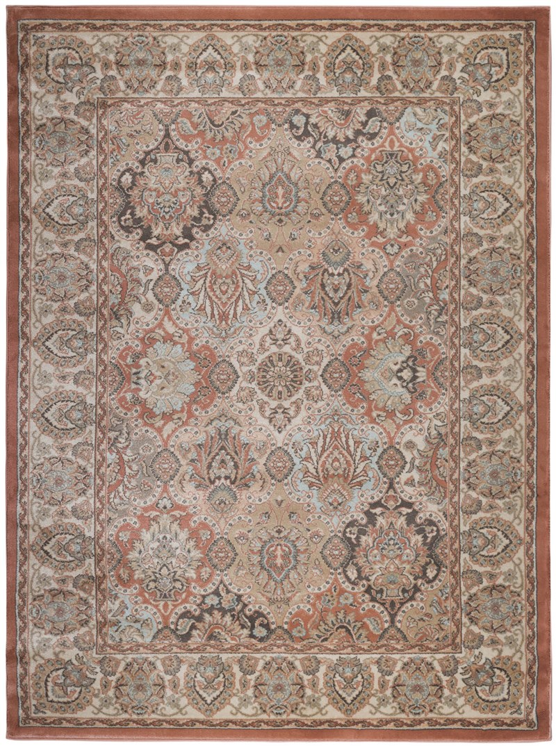 Radici Usa Garda 3802 Terracotta Traditional Rug