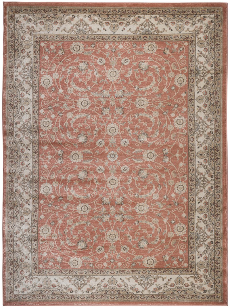 Radici Usa Garda 3810 Terracotta Traditional Rug