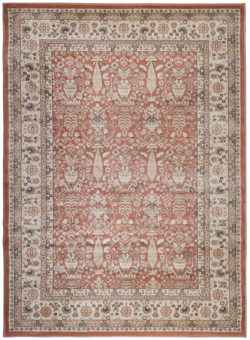 Radici Usa Garda 3812 Terracotta Traditional Rug