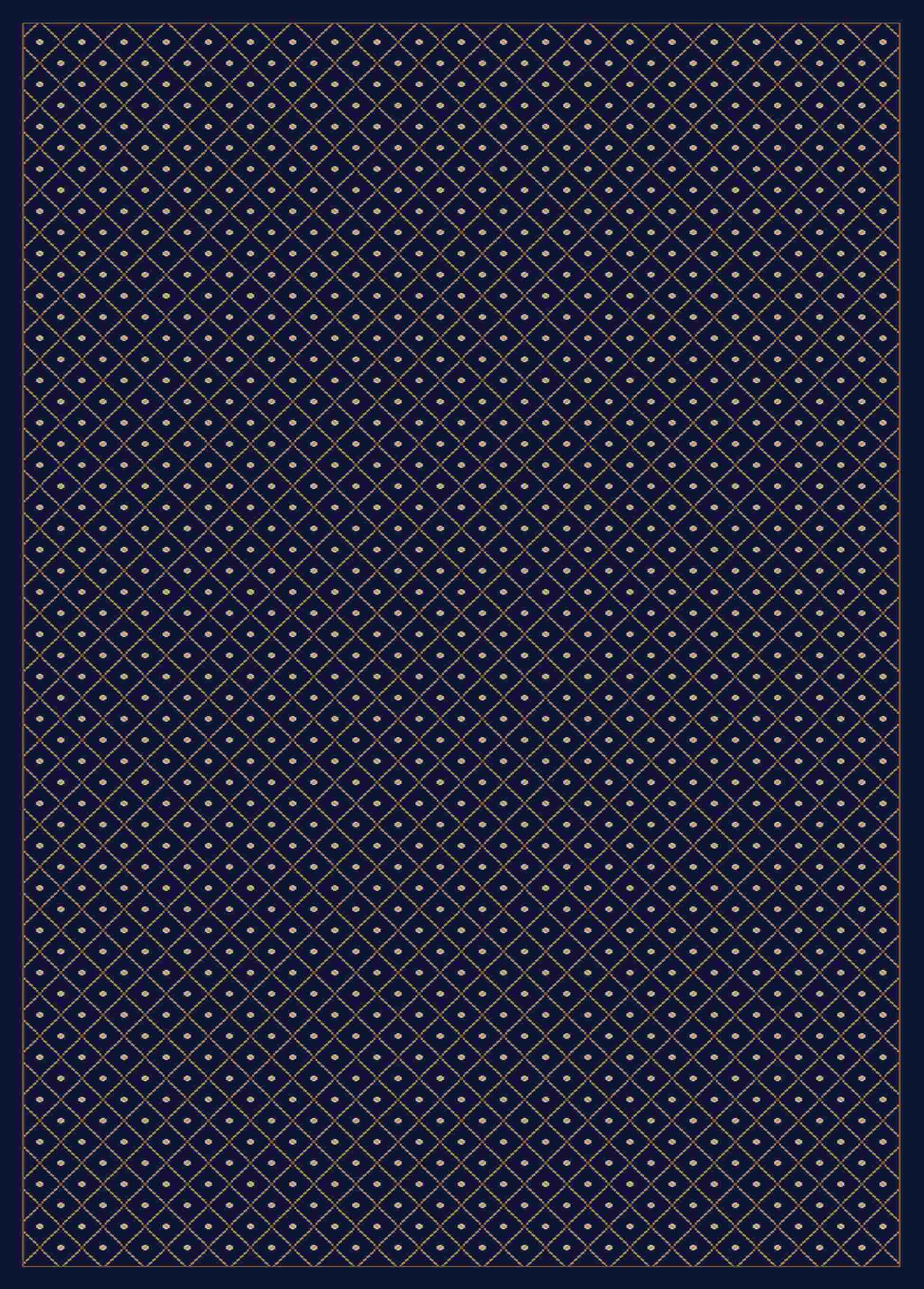 Radici Usa Como 782 Blue Traditional Area Rug
