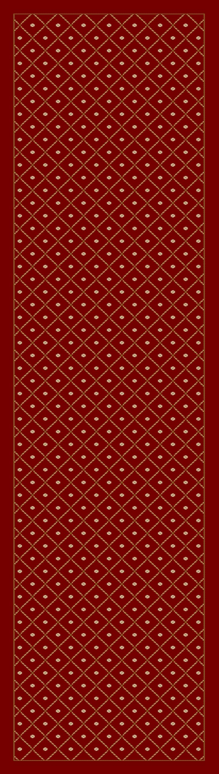 Radici Usa Como 782 Red Traditional Area Rug