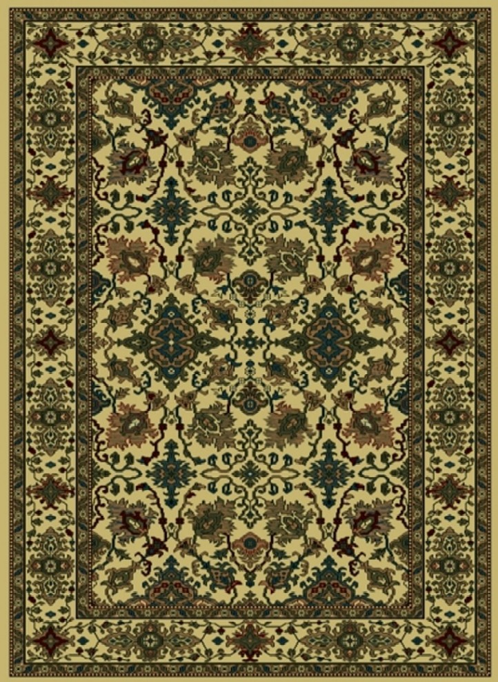 Radici Usa Castello 460 Ivory Traditional Area Rug