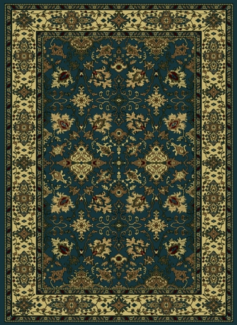 Radici Usa Castello 460 Blue Traditional Area Rug