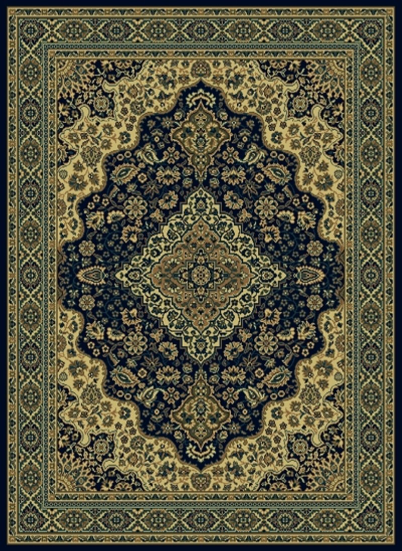 Radici Usa Castello 808 Blue Traditional Area Rug