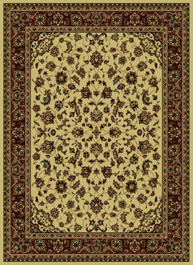 Radici Usa Castello 953 Ivory Traditional Area Rug