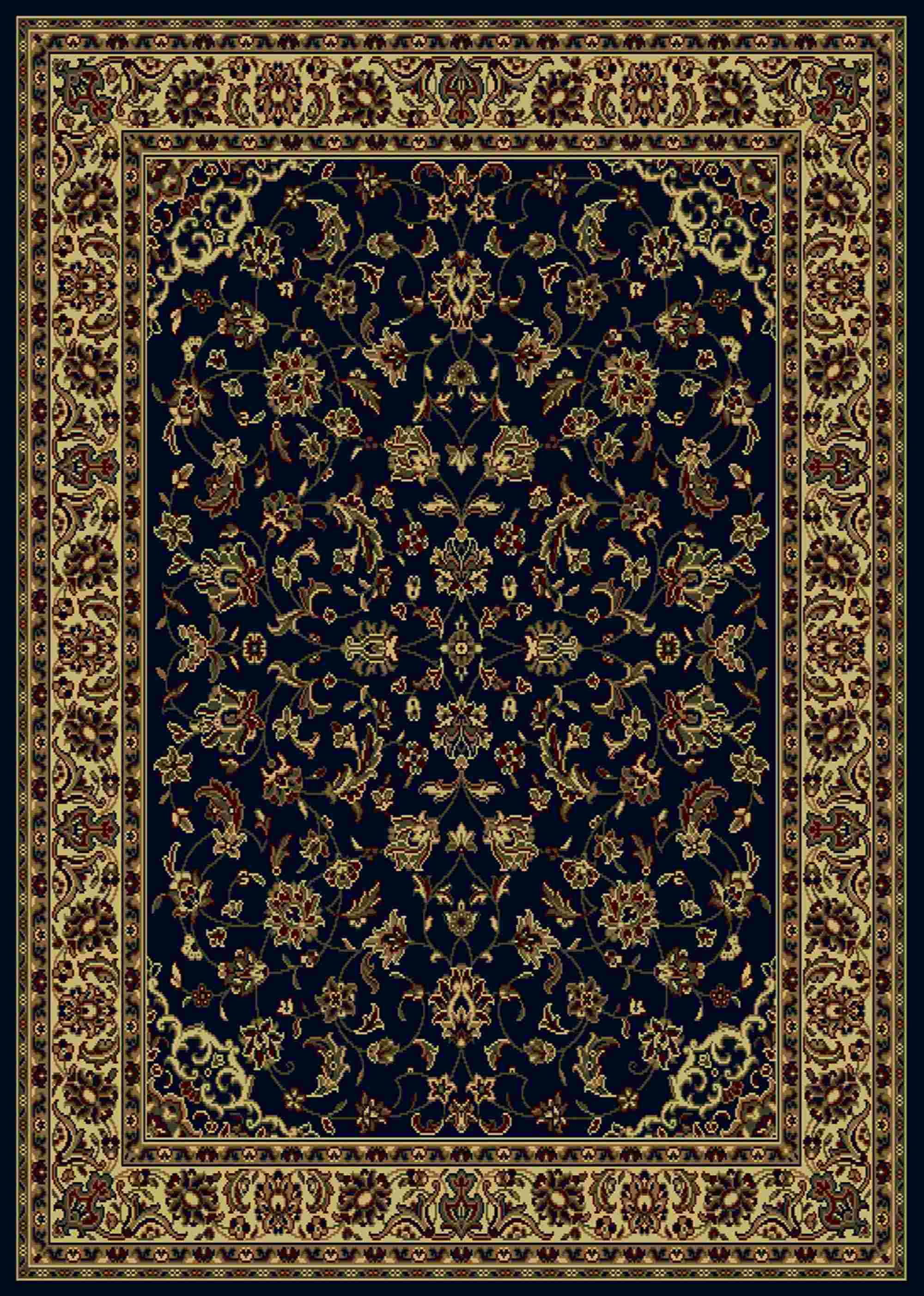 Radici Usa Castello 953 Blue Traditional Area Rug