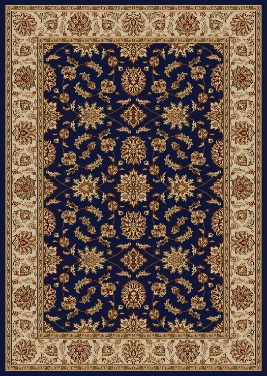 Radici Usa Como 1592 Blue Traditional Area Rug