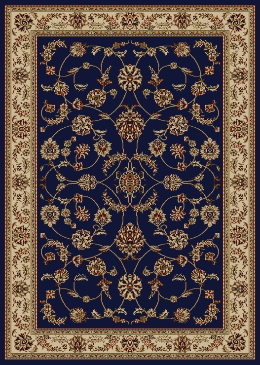 Radici USA Como 1596 blue Traditional Area Rug