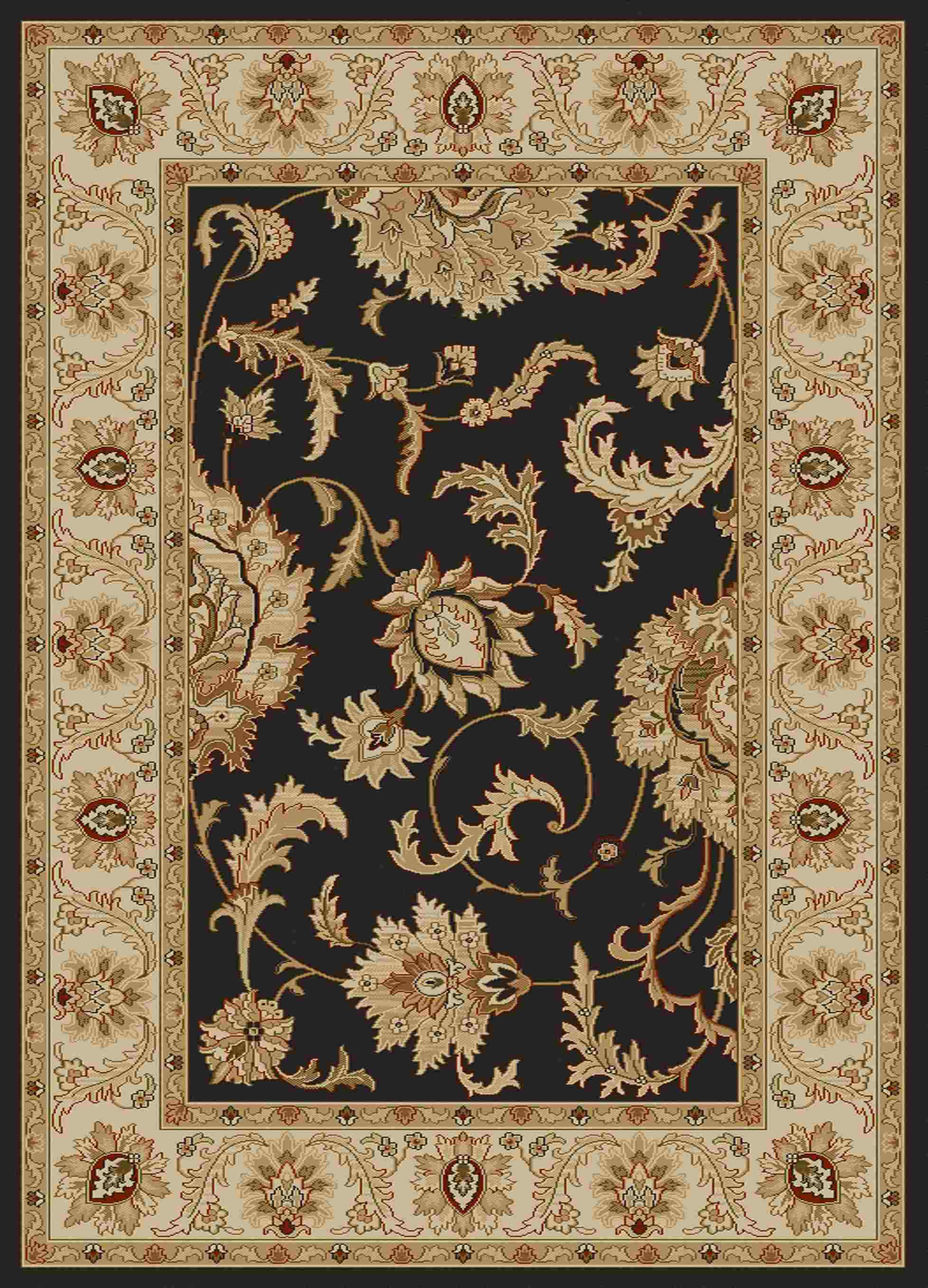 Radici Usa Como 1621 Brown Transitional Area Rug