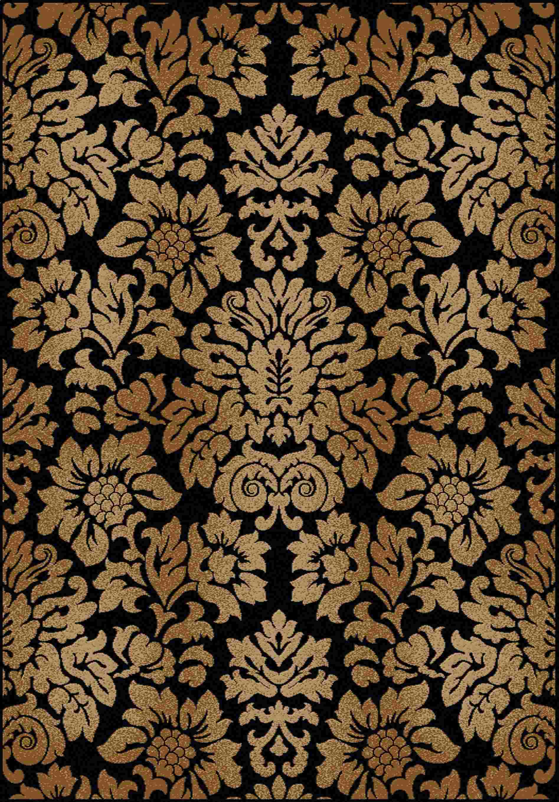 Radici Usa Como 1747 Black Transitional Area Rug