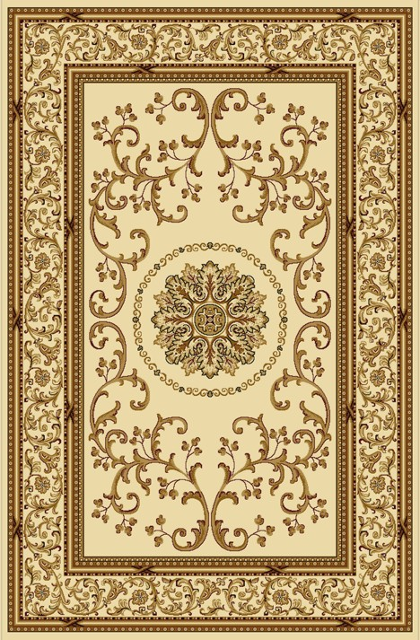 Radici Usa Noble 1419 Ivory Traditional Area Rug