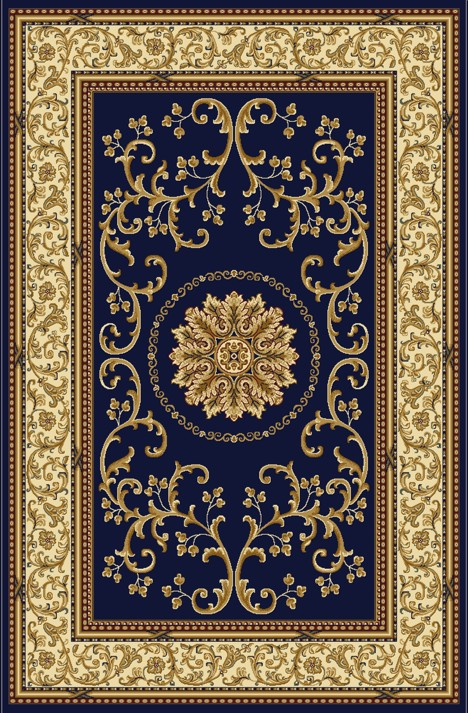 Radici Usa Noble 1419 Blue Traditional Area Rug