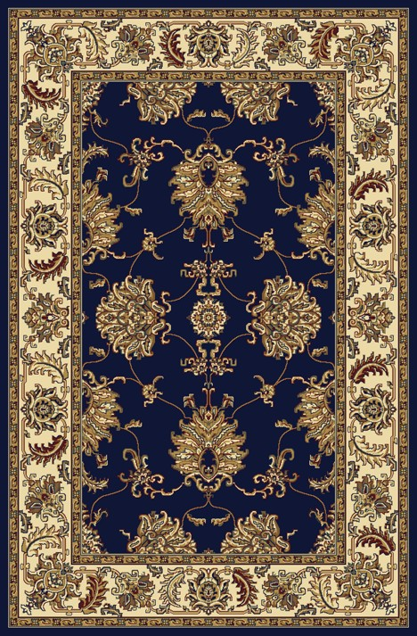 Radici Usa Noble 1330 Blue Traditional Area Rug