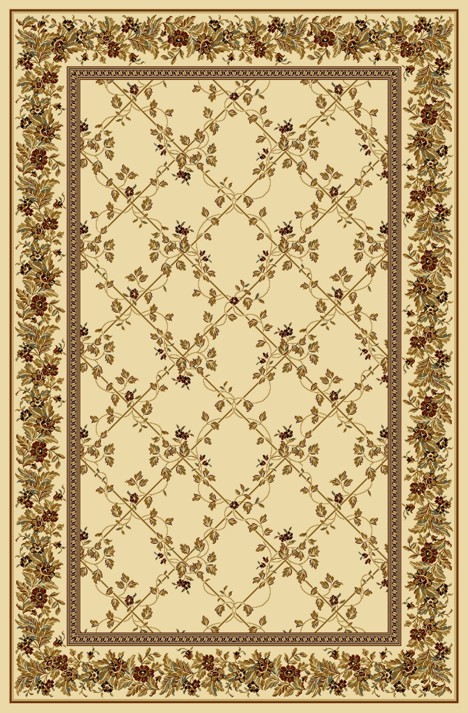 Radici Usa Noble 1427 Ivory Transitional Area Rug