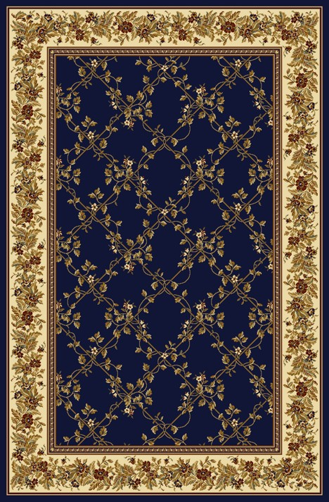 Radici Usa Noble 1427 Blue Transitional Area Rug