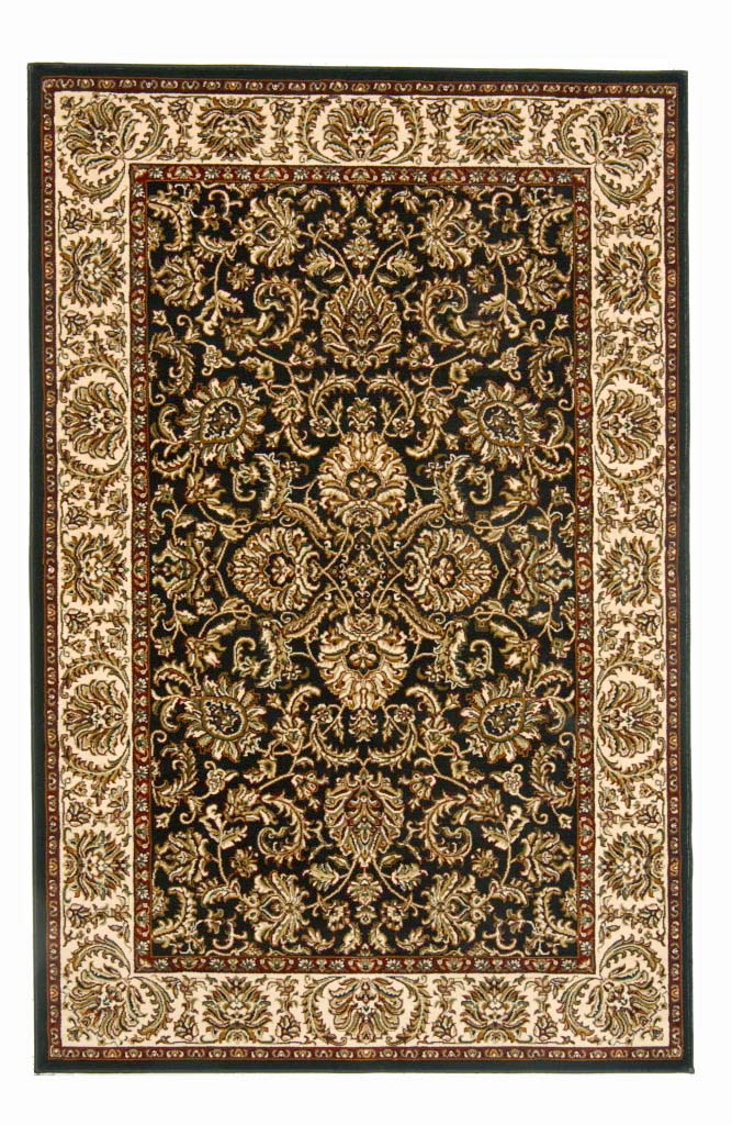 Radici Usa Noble 1305 Black Traditional Area Rug