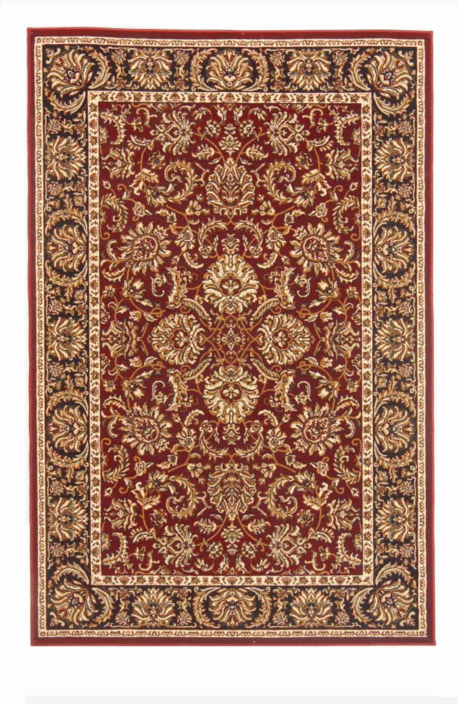 Radici Usa Noble 1305 Burgundy Traditional Area Rug