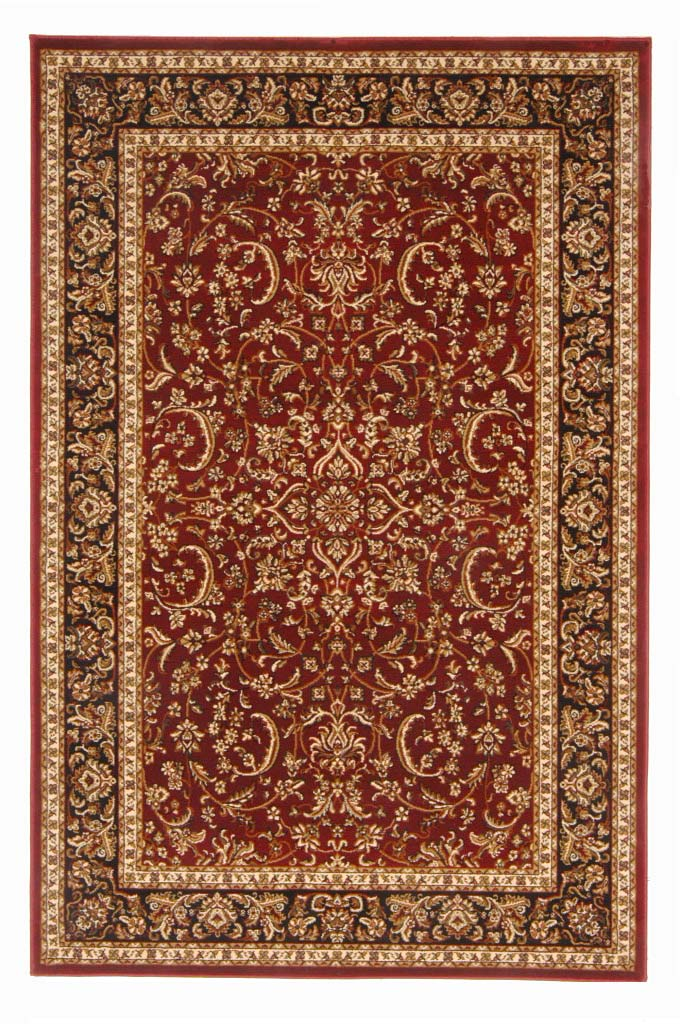 Radici Usa Noble 1318 Burgundy Traditional Area Rug