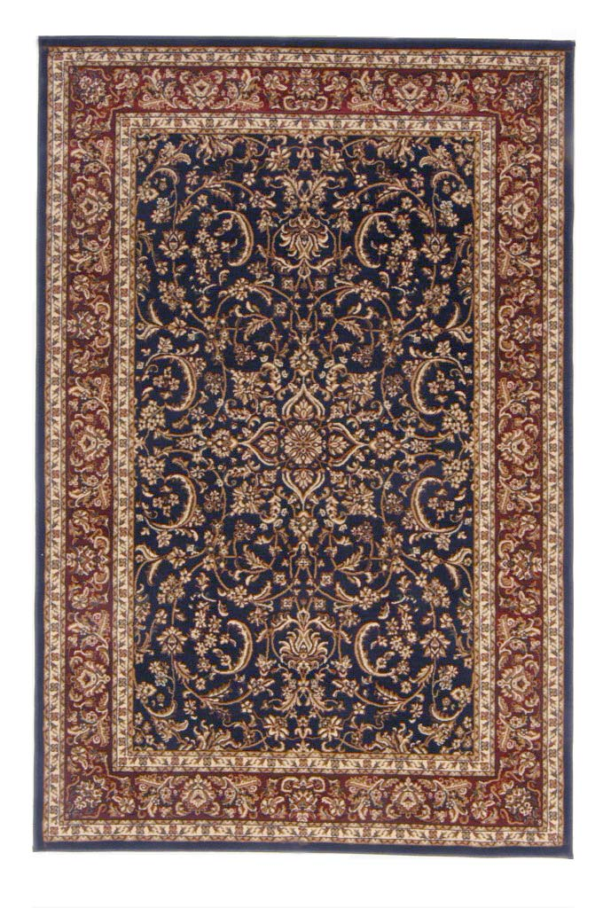 Radici Usa Noble 1318 Navy Traditional Area Rug