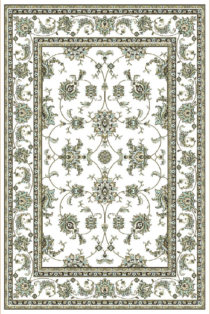 Radici Usa Pisa 1780 Bone Traditional Area Rug