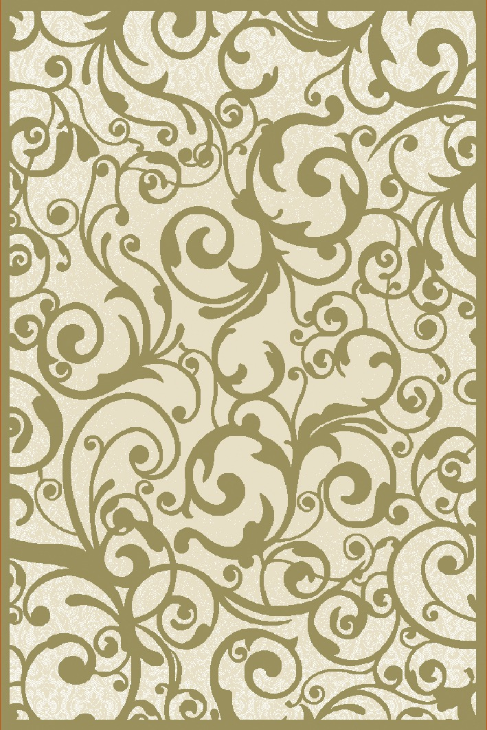 Radici Usa Pisa 1845 Ivory Contemporary Area Rug
