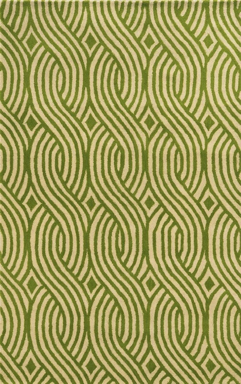 Rizzy Julian Pointe Pjp886 Green Rug