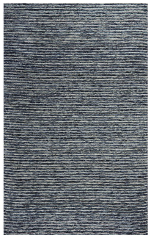 Rizzy Home  Berkshire Casual Blue Rug Bks101